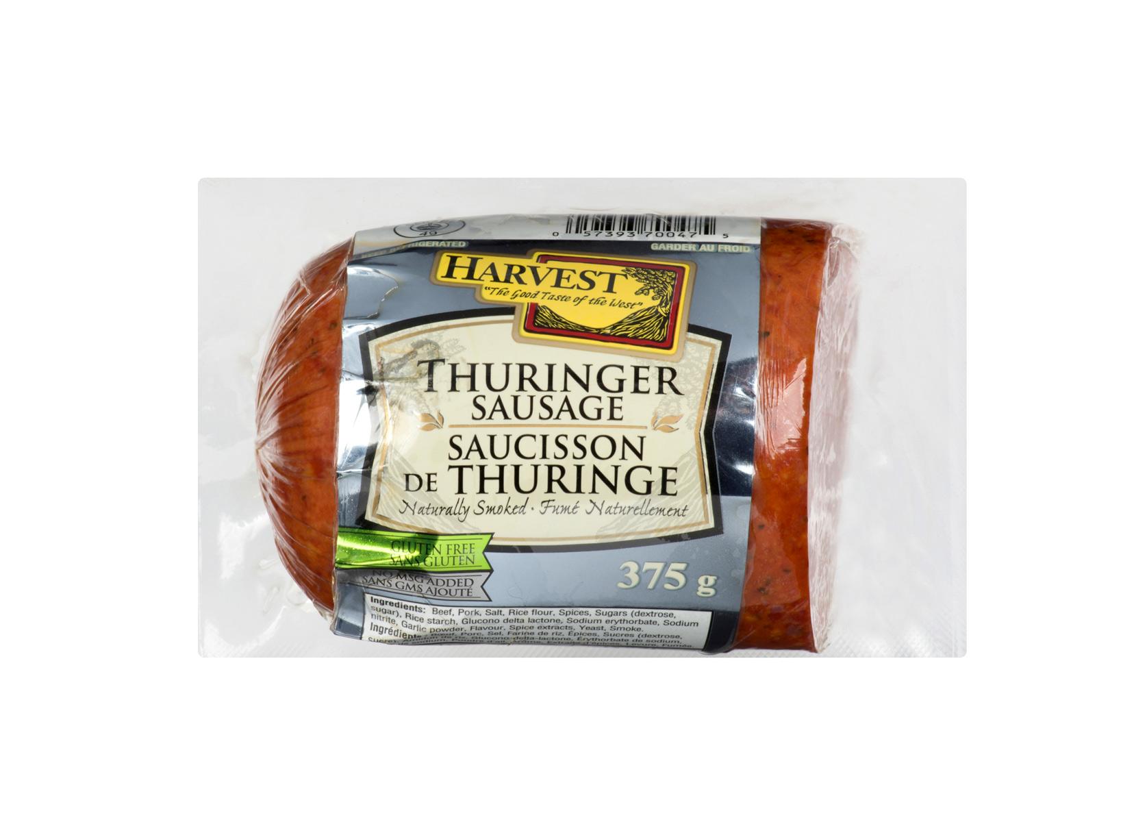 Chub Thuringer Sausage 375g | Harvest Meats